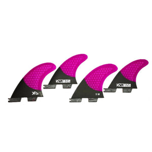 FCS 2 Base, The Thrasher Carbon, SF4 Quad Fin Set - KS Boardriders | Philippines Online Branded Clothes & Surf Shop