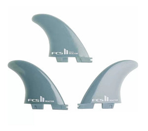 FCS 2 Reactor Tri Fin Set Blue Medium - KS Boardriders | Philippines Online Branded Clothes & Surf Shop