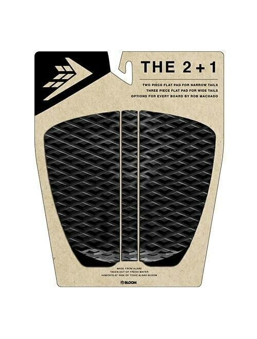 Firewire 2+1 Flat Traction Pad - Black/Charcoal - KS Boardriders | Philippines Online Branded Clothes & Surf Shop