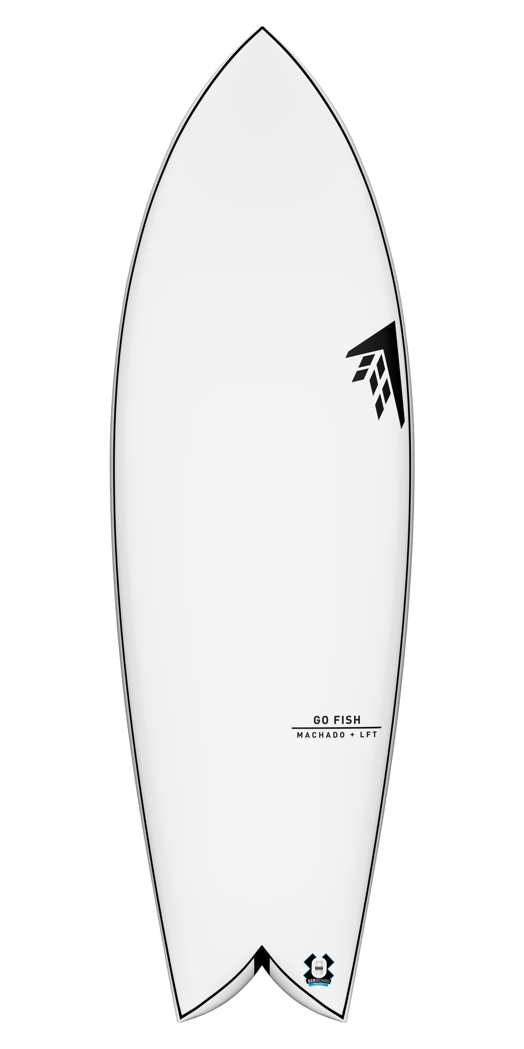 Firewire 5'3 Go Fish LFT Tech Futures Boxes - KS Boardriders | Philippines Online Branded Clothes & Surf Shop