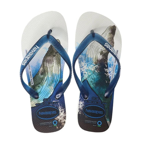 Havaianas Unisex International Conservacao White/Navy - KS Boardriders | Philippines Online Branded Clothes & Surf Shop