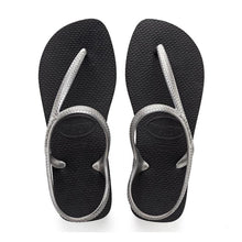 Load image into Gallery viewer, Havaianas Womens Flash Urban Black/Silver - KS Boardriders | Philippines Online Branded Clothes & Surf Shop