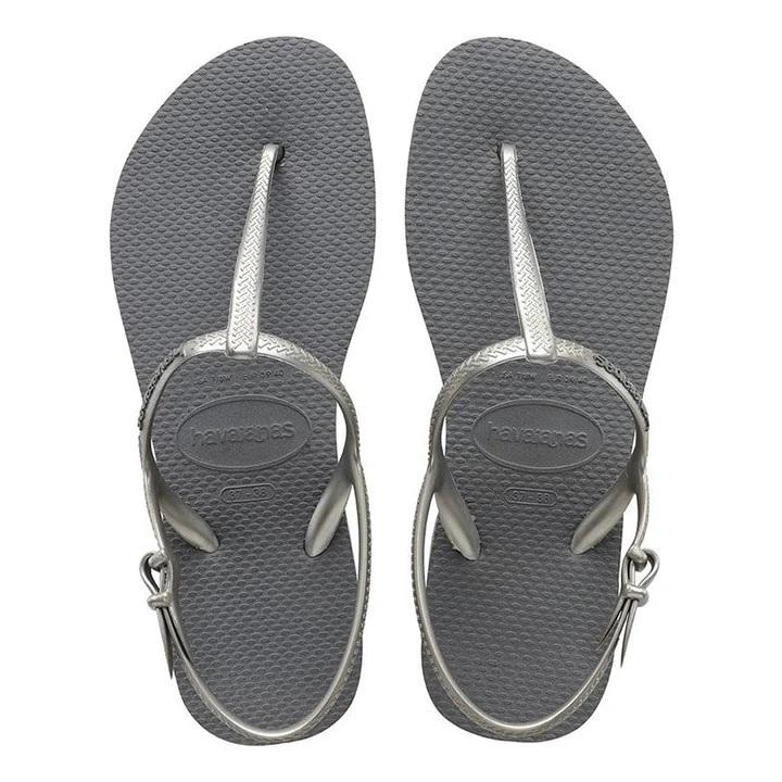 Havaianas Womens Freedom Slim Steel Grey - KS Boardriders | Philippines Online Branded Clothes & Surf Shop