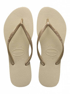 Havaianas Womens Slim Sand Areia/Dourado Claro - KS Boardriders | Philippines Online Branded Clothes & Surf Shop