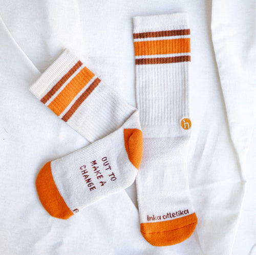 inka atletika Women's Everyday Crew Socks (Retro) - KS Boardriders | Philippines Online Branded Clothes & Surf Shop