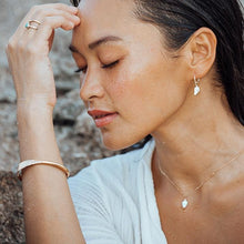 Load image into Gallery viewer, Isla PH ISLA Mini Cone Shell Hoop Earrings - KS Boardriders | Philippines Online Branded Clothes & Surf Shop