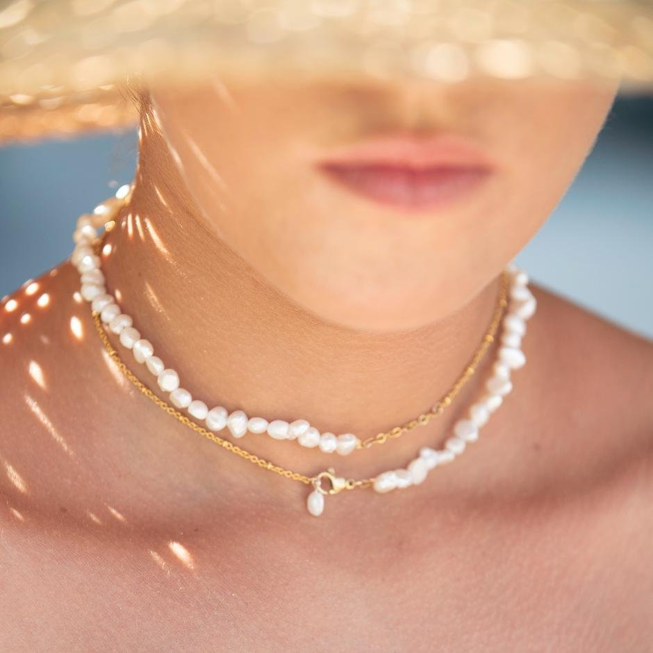 Isla PH SELENE Baroque Pearl Multiway Necklace - KS Boardriders | Philippines Online Branded Clothes & Surf Shop