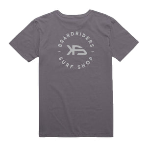 KS Boardriders Men's Pocket Tee (Cotton Gray) - KS Boardriders | Philippines Online Branded Clothes & Surf Shop
