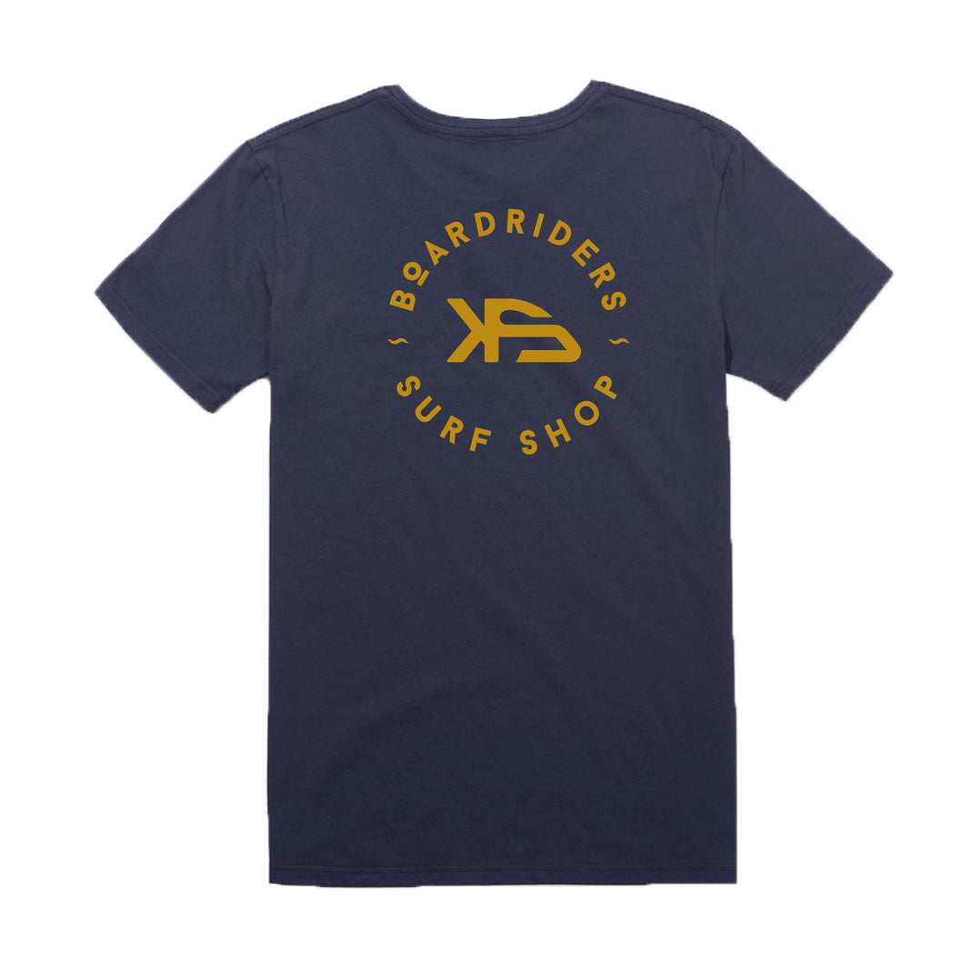 KS Boardriders Men's Pocket Tee (Cotton Navy) - KS Boardriders | Philippines Online Branded Clothes & Surf Shop