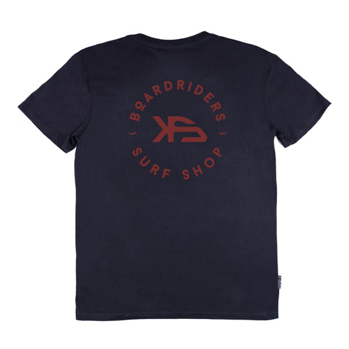 KS Boardriders Men's Tee (Cotton Black) - KS Boardriders | Philippines Online Branded Clothes & Surf Shop