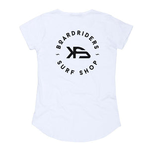 KS Boardriders Women's (Cotton White) - KS Boardriders | Philippines Online Branded Clothes & Surf Shop