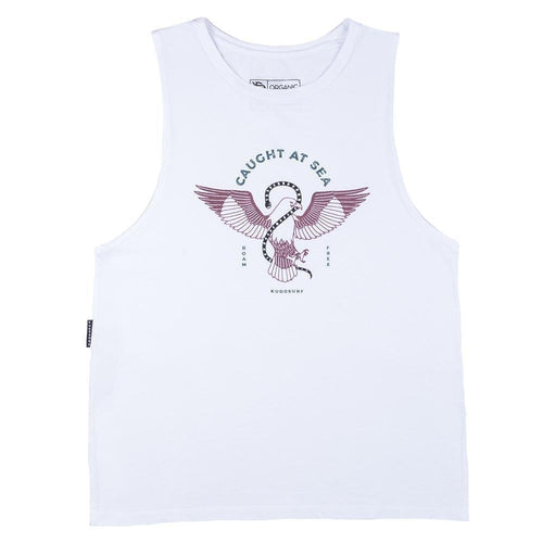KS Brahminy Kite Women's Muscle Tank (Organic White) - KS Boardriders | Philippines Online Branded Clothes & Surf Shop