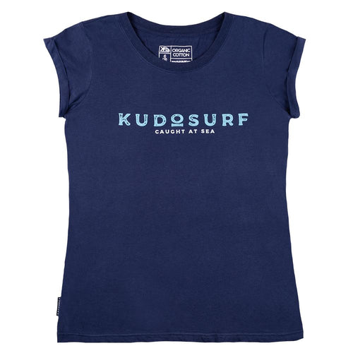 KS Caught At Sea Women's Tee (Organic Navy) - KS Boardriders | Philippines Online Branded Clothes & Surf Shop