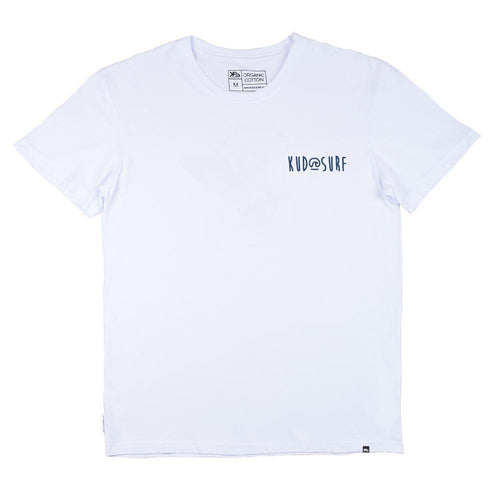 KS Flow Logo Men's Tee (Cotton White) - KS Boardriders | Philippines Online Branded Clothes & Surf Shop