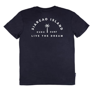 KS Island Men's Tee (Cotton Black) - KS Boardriders | Philippines Online Branded Clothes & Surf Shop