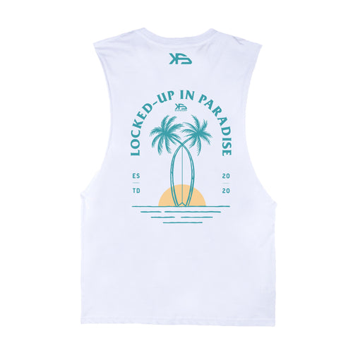 KS Lockdown Essential Kid's Tank (Organic White) - KS Boardriders | Philippines Online Branded Clothes & Surf Shop