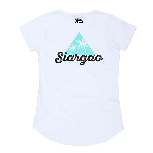 KS Siargao Women's Tee (Cotton White) - KS Boardriders | Philippines Online Branded Clothes & Surf Shop