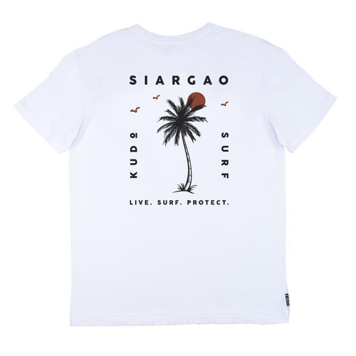 KS Sunset Men's Tee (Cotton White) - KS Boardriders | Philippines Online Branded Clothes & Surf Shop