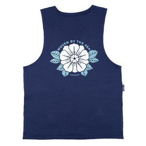 KS Woven Women's Muscle Tank (Organic Navy) - KS Boardriders | Philippines Online Branded Clothes & Surf Shop