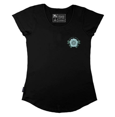 KS Woven Women's Tee (Organic Black) - KS Boardriders | Philippines Online Branded Clothes & Surf Shop