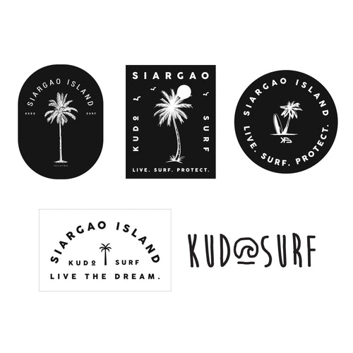 Kudo Surf Sticker Pack - KS Boardriders | Philippines Online Branded Clothes & Surf Shop