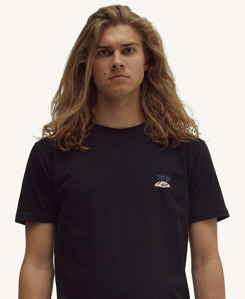 Pleasant Help Men's Tee (Black) - KS Boardriders | Philippines Online Branded Clothes & Surf Shop