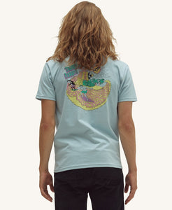 Pleasant Island Trouble Men's Tee (Blue) - KS Boardriders | Philippines Online Branded Clothes & Surf Shop