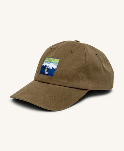 Pleasant Surfin USA Cap (Army Green) - KS Boardriders | Philippines Online Branded Clothes & Surf Shop