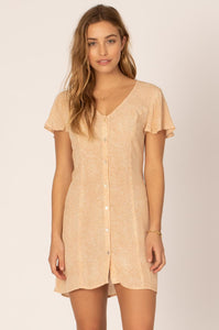Sisstr Shining Down Woven Dress (Tan) - KS Boardriders | Philippines Online Branded Clothes & Surf Shop
