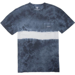 Vissla Established Tie Dye Stripe (Strong Blue Heather) - KS Boardriders | Philippines Online Branded Clothes & Surf Shop