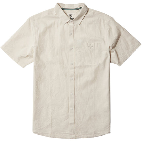 Vissla Sets SS Eco Shirt (Bone) - KS Boardriders | Philippines Online Branded Clothes & Surf Shop