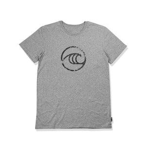 WSL Groundswell Men's Tee (Heather Gray) - KS Boardriders | Philippines Online Branded Clothes & Surf Shop