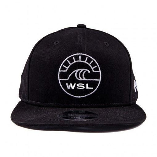 WSL New Era Groundswell Snapback Hat (Black) - KS Boardriders | Philippines Online Branded Clothes & Surf Shop