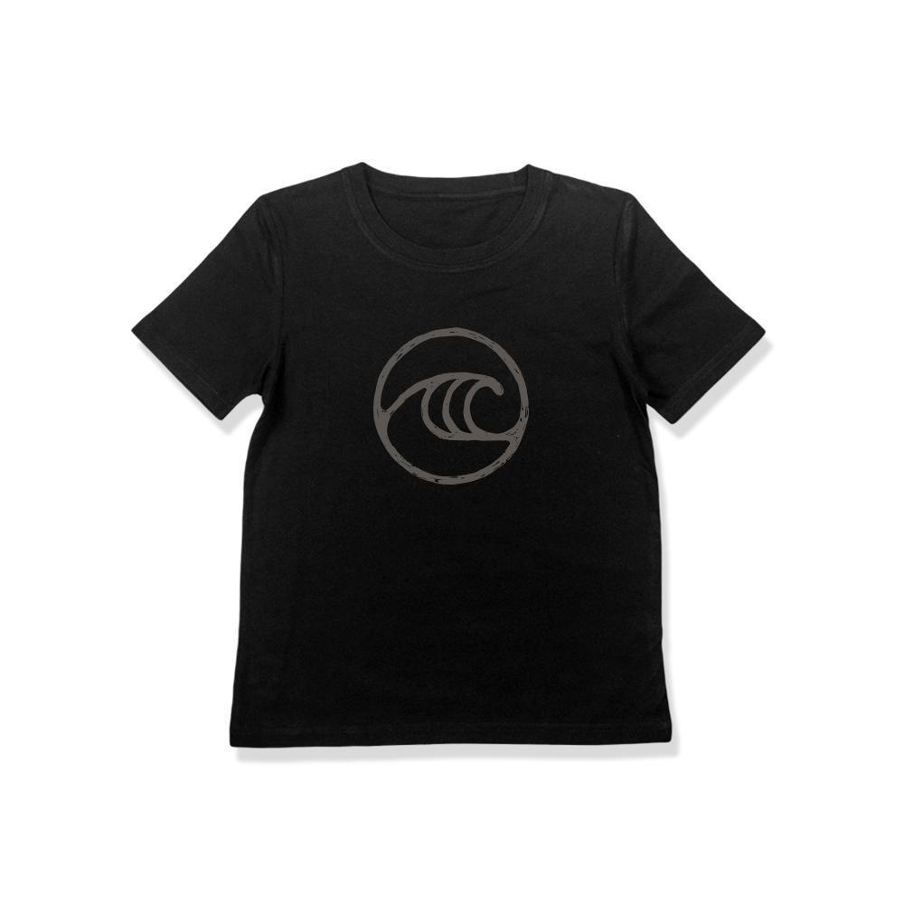 WSL Seal Youth Tee (Black) - KS Boardriders | Philippines Online Branded Clothes & Surf Shop