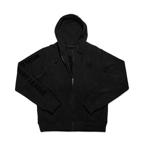 WSL Stealth Men's Hooded Fleece Zip-up (Black) - KS Boardriders | Philippines Online Branded Clothes & Surf Shop