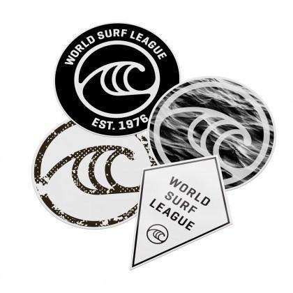 WSL Sticker Pack - KS Boardriders | Philippines Online Branded Clothes & Surf Shop