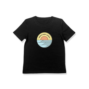 WSL Sunrise Youth Tee (Black) - KS Boardriders | Philippines Online Branded Clothes & Surf Shop