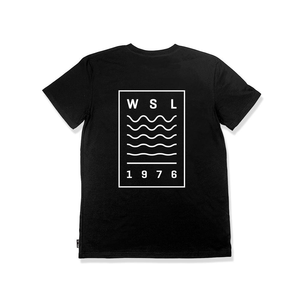 WSL Tides Men's Tee (Black) - KS Boardriders | Philippines Online Branded Clothes & Surf Shop