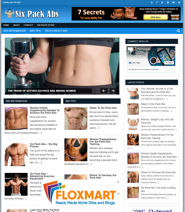 Six Pack Abs Blog - Floxmart