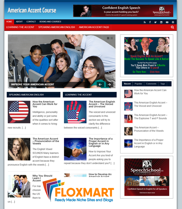 American Accent WordPress Blog - Floxmart