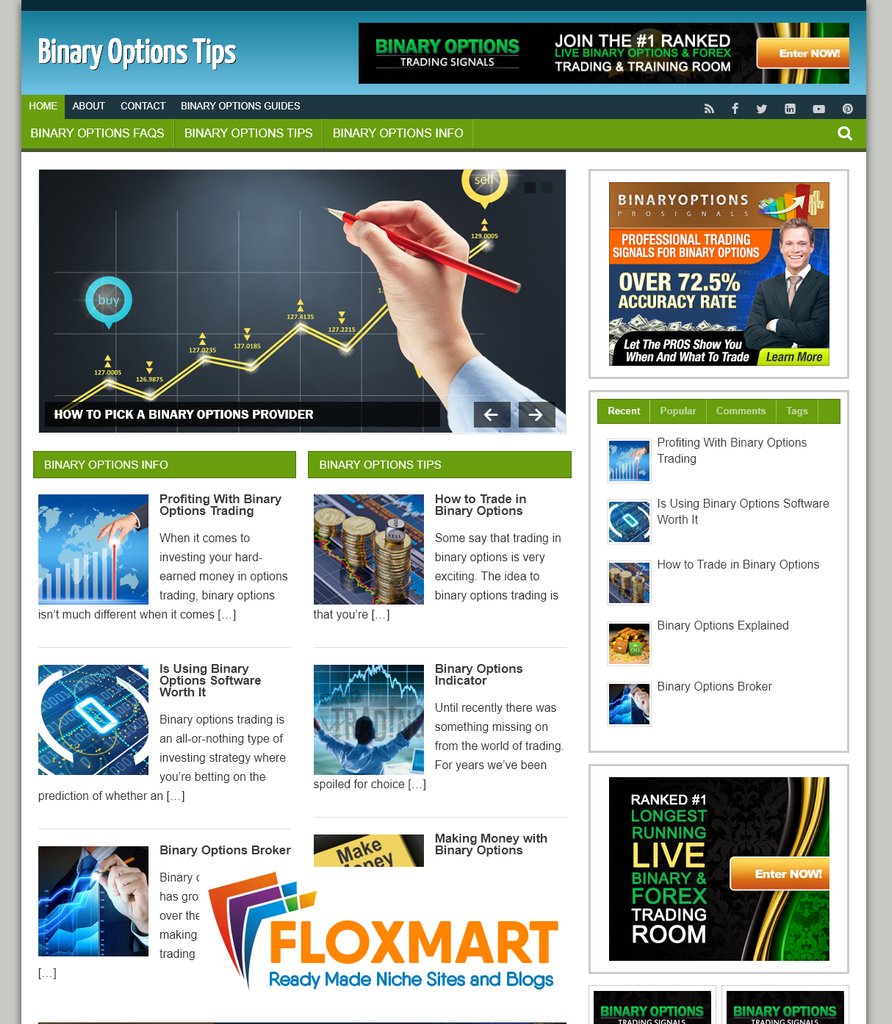 Binary Options PLR Blog - Floxmart