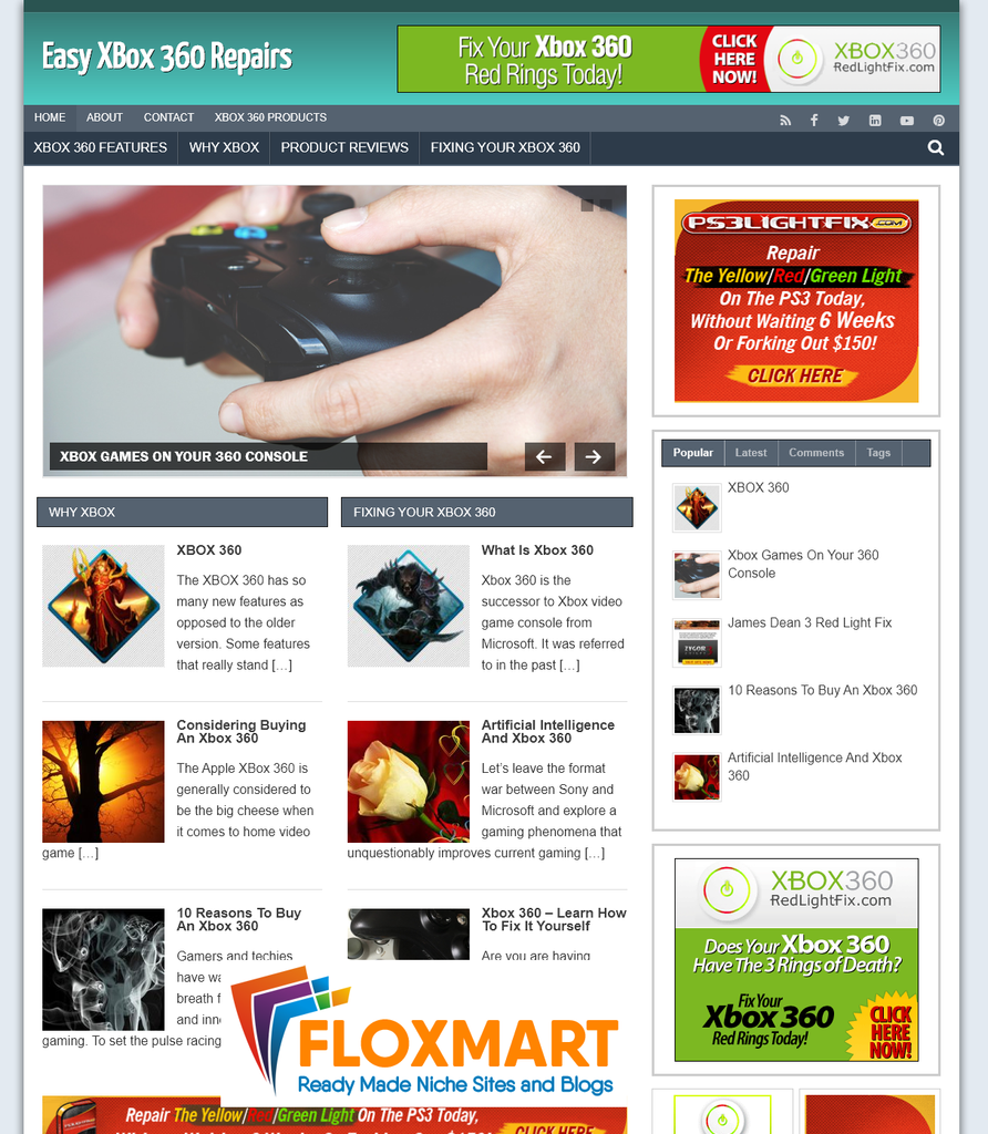 xBox 360 Repair PLR Blog - Floxmart