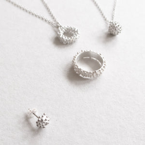 silver dots series