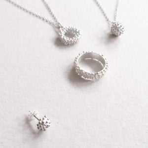 dots series in silver