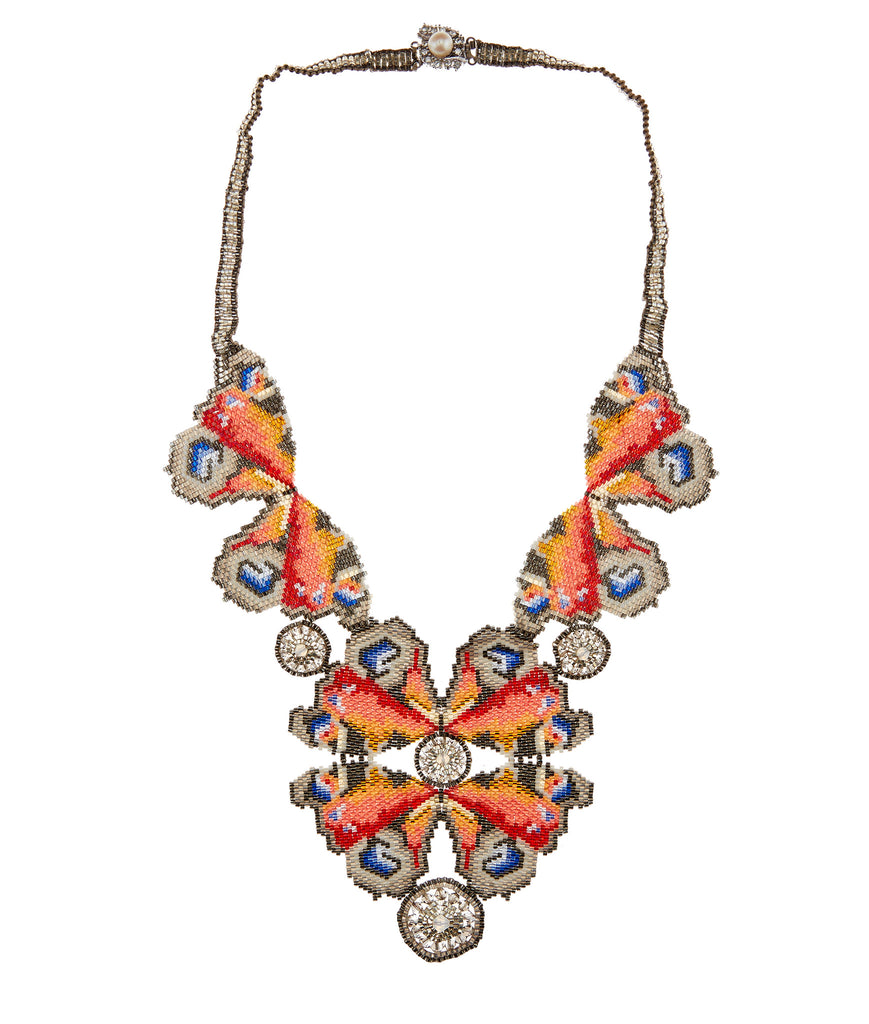 Kaleidoscope Peacock Necklace