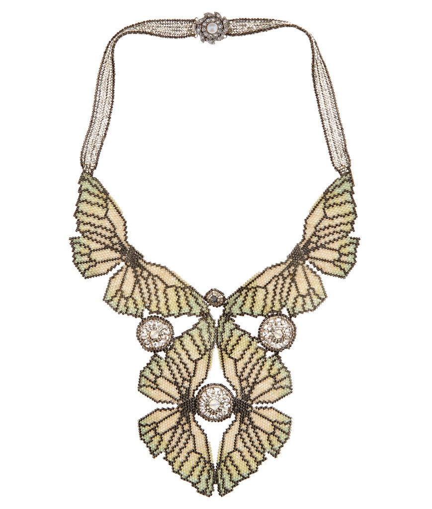 Kaleidoscope Cabbage Necklace