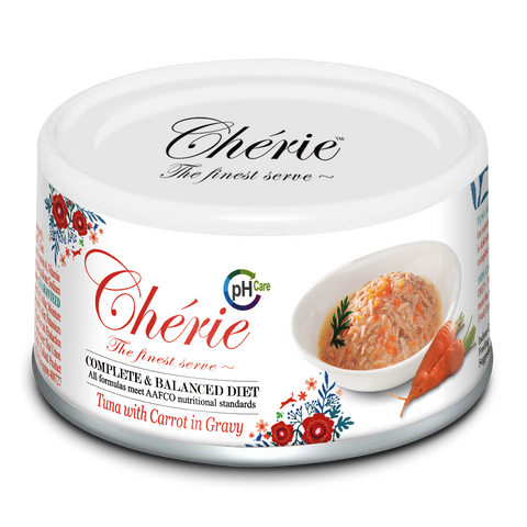Chérie, Tuna with Carrot in Gravy - Urinary Care (80g)