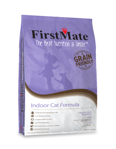 FirstMate Grain Friendly Indoor Cat Dry Food (2.3kg/6kg)