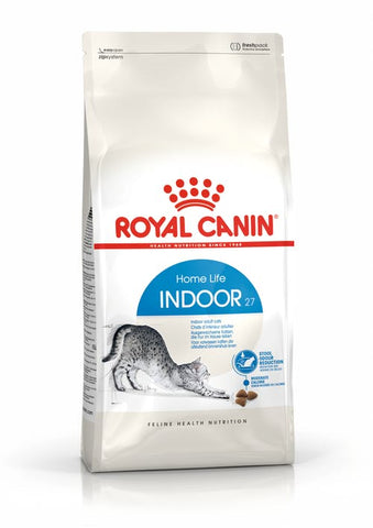 Royal Canin - Indoor 27 Dry Cat Food (4 sizes)