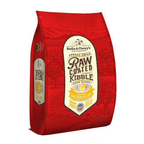 Stella & Chewy's - Cage-Free Chicken Raw Coated Kibble Dry Dog Food (1.6kg/10kg)